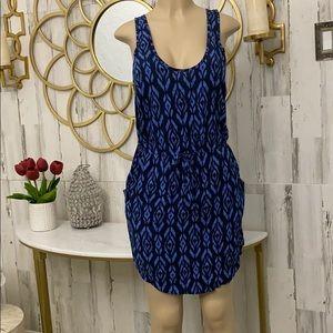 Gap navy blue mini dress
